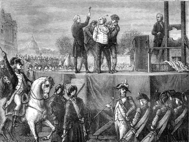 L\'exécution de Louis XVI